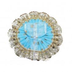 Firozi Sequins Lace Work Dress