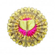 Yellow Rani Patch Work Dress