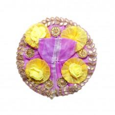 Beautiful Purple Gotta Patti Patch Work Dress