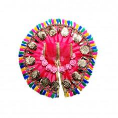 Elegant Rani Sequins Flower Patch Work Dress