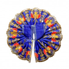 Blue Sitara Embroidered Lace Work Dress