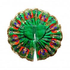 Green Sitara Embroidered Lace Work Dress