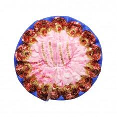 Baby Pink Sitara Embroidered Work Dress