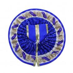 Blue Sitara Embroidered Work Dress