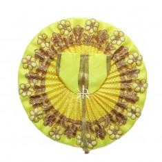 Yellow Zari Embriodery Work Dress