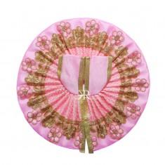 Pink Zari Embriodery Work Dress