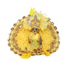 Designer Yellow Zardozi Hand Work Dress