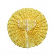 Yellow Thread Work Dress