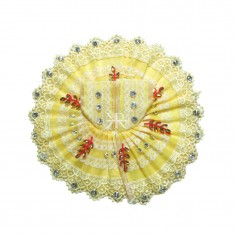 Lemon Stone Lace Work Dress
