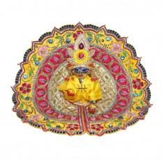 Designer Yellow Zardozi Stone Hand Work Dress