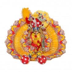 Designer Yellow Heavy Stone Sequins Hand Work Dress