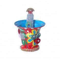 A Set Of Beautiful Multi Decorative Bucket & Pichkari
