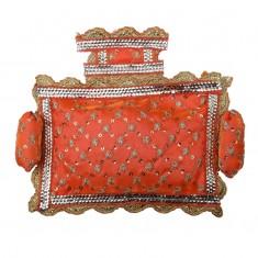 Orange Designer Cushion Set