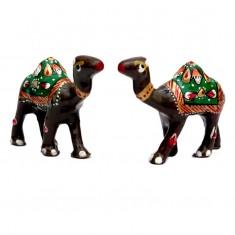 A Pair of Brown Meena Work Camel