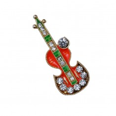 Laddu Gopal Orange Stone Guitar